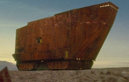 Sandcrawler Did You Know: George Lucas is Building an Office Designed to Look Like a Jawa Sandcrawler? (PICS)