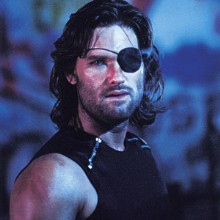 Kurt Russell as Snake Plissken in Escape from New York