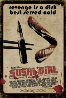 Poster Art for Sushi Girl