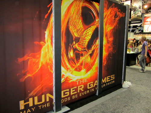 The Hunger Games at Comic Con