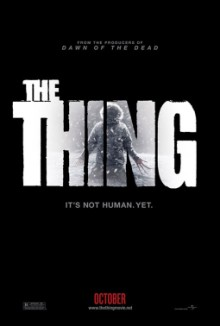 Teaser poster for The Thing prequel