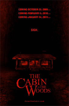 cabin in the woods The Last Horror Blog: We Are The Night of the Newly Announced Cabin in the Woods Details