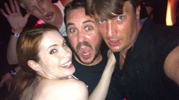 Felicia Day, Will Wheaton, Nathan Fillion