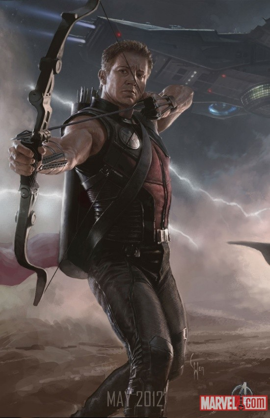 hawkeye poster UPDATE: First Look at the New Hulk; Complete Avengers Team Posters Revealed