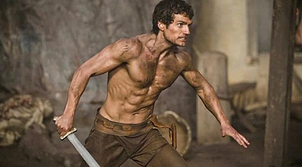immortals henry cavill as theseus Comic Con: Five Things We Learned from the Immortals Panel