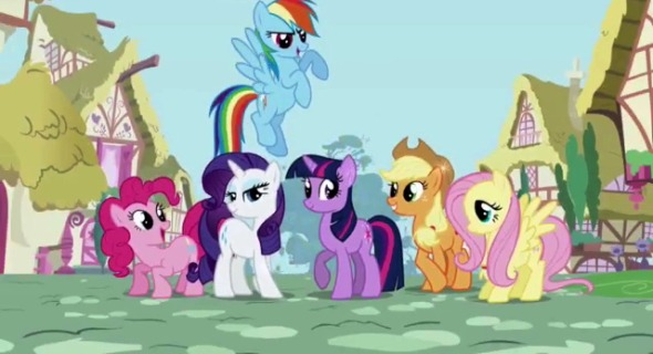 my little pony friendship is magic  Transformers: Dark of the Moon Meets My Little Pony in Epic Mash Up of the Week