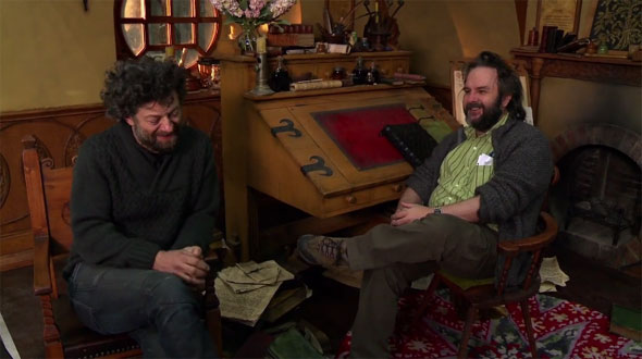 peter jackson andy serkis Must Watch: The Hobbit Production Video #3 Reflects on Four Months of Filming