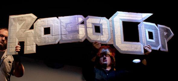 Robocop Live Logo