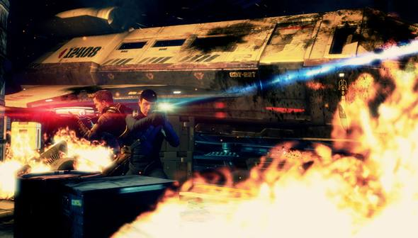 Art from the upcoming Star Trek videogame