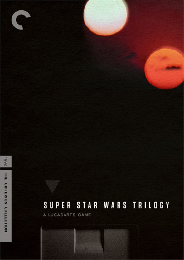 GamePro mock up of a Super Star Wars Criterion game release