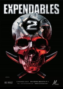 Expendables 2 Teaser poster