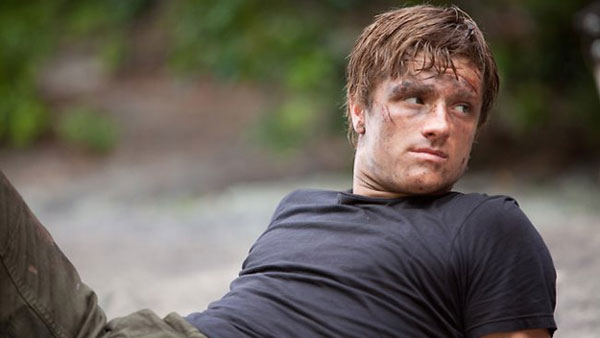 Peeta in The Hunger Games
