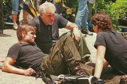 Official Hunger Games Set Photo
