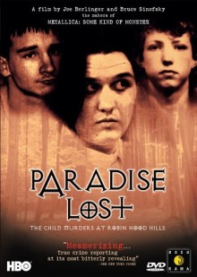 DVD cover for Paradise Lost