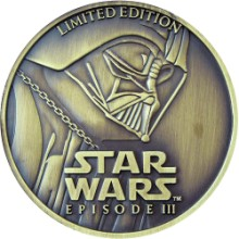 Star Wars Collectible Coin