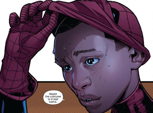 The new Spider Man Nerd Watch: Meet the New Half Black, Half Hispanic Spider Man