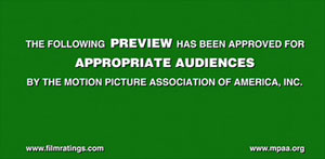MPAA Trailer Warning