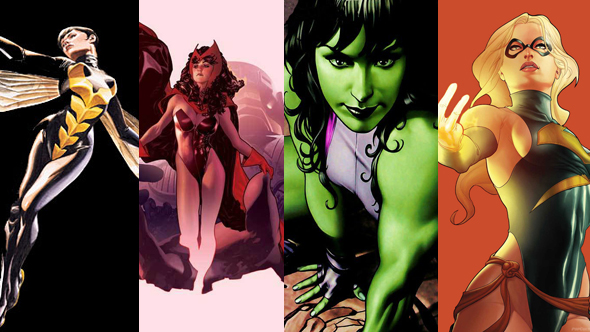 femaleavengers The Week in Movies.com Original Content: 26 Columns and Features