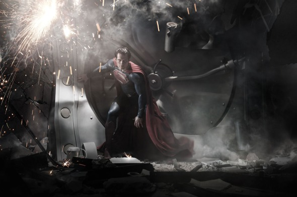 man of steel henry cavill Man of Steel Update: First Official Image of Henry Cavill as Superman!