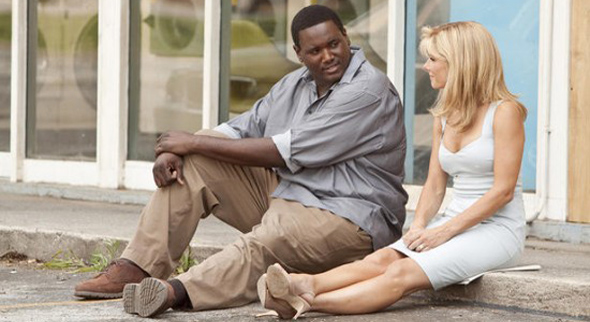 The Blind Side, Quinton Aaron and Sandra Bullock