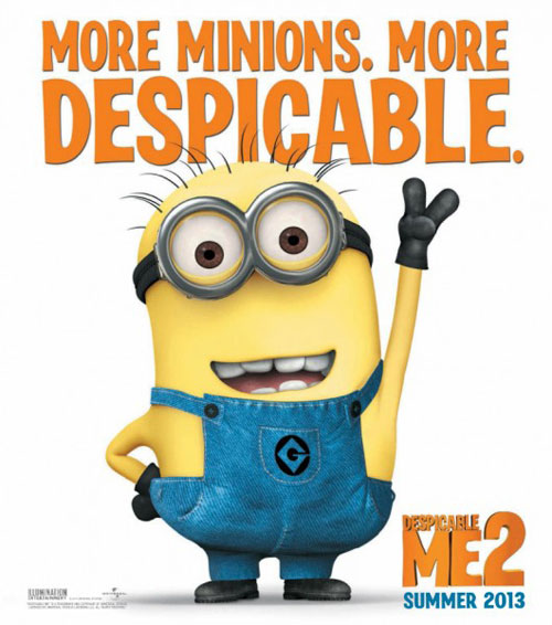 DespicableMe2Poster Best/Worst Promos of the Week: Elmo and The Human Centipede Unite