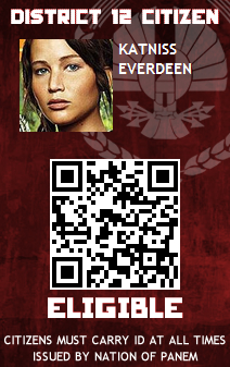 Katniss Everdeen Panem October ID