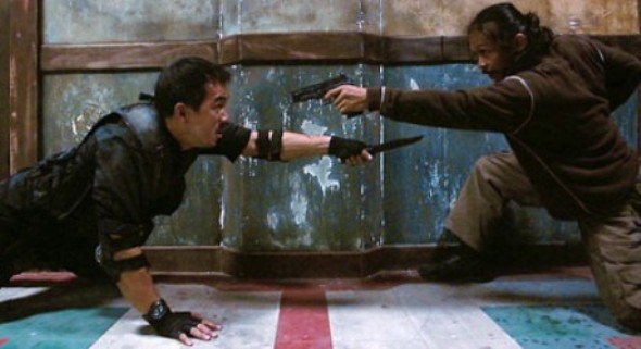 Still from Gareth Evans' The Raid