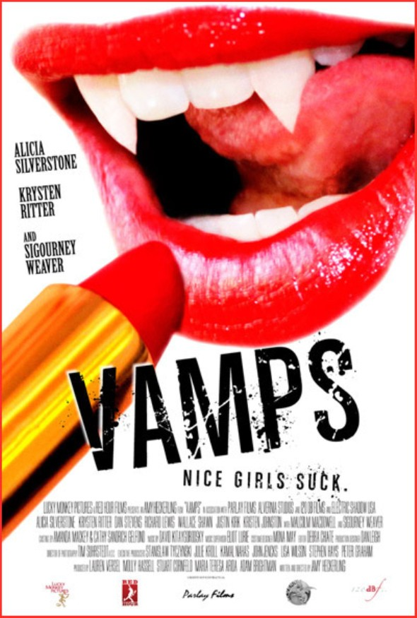 Poster for Amy Heckerling's Vamps