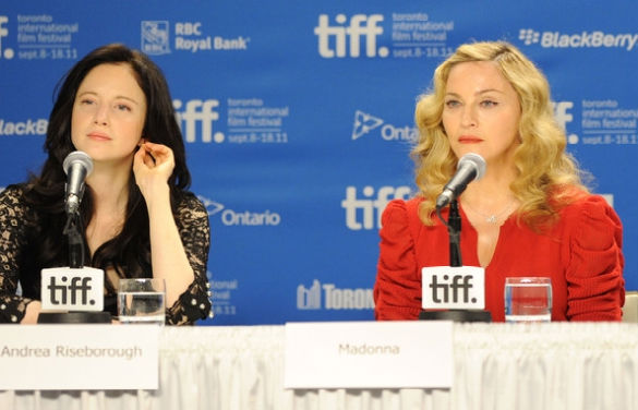 Madonna at press conference
