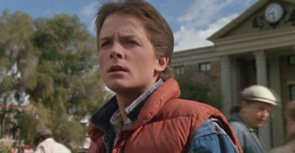 marty mcfly mainskateboard Watch: Back to the Future Skateboard Chase with A Capella Multitrack
