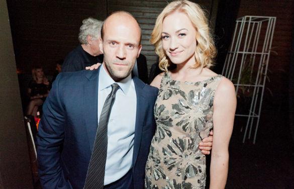 Jason Statham and Yvonne Strahovski