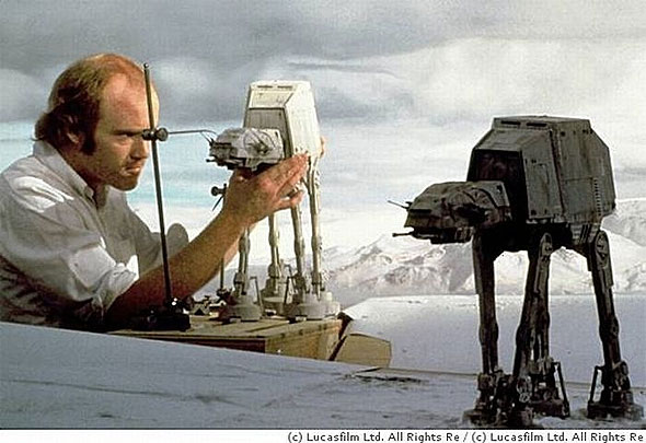 phil tippett star wars models Dialogue: Phil Tippett on the Film Industry and Everything From Jurassic Park 4 to E.T. 2 to Philip Kaufmans Hemingway