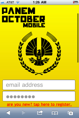 Panem October Mobile