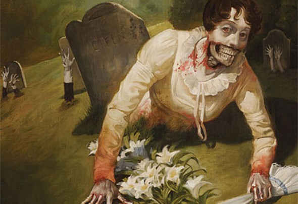 Pride and Prejudice and Zombies art