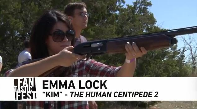 Watch: Fantastic Fest Filmmakers, Talent and More Shoot Shotguns, Texas Style