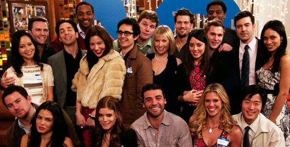 The cast of Ten Year