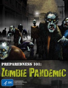 Cover for the CDC's zombie comic