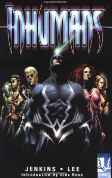 Cover for Marvel Comics' The Inhumans
