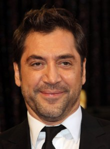 Actor Javier Bardem