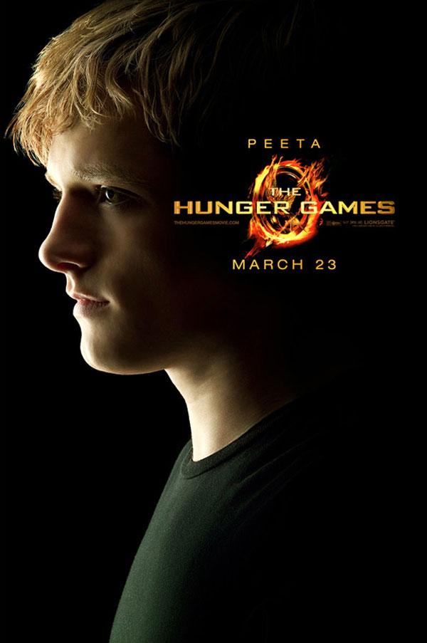 Peeta Character Poster