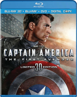 captain america blu ray cover Captain America: The First Avenger Blu ray Review: Above Average Disc for an Above Average Superhero Movie