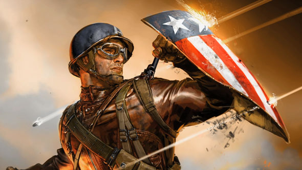 captain america concept art 590px Captain America: The First Avenger Blu ray Review: Above Average Disc for an Above Average Superhero Movie