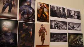 captain america concept art wall 285px Captain America: The First Avenger Blu ray Review: Above Average Disc for an Above Average Superhero Movie