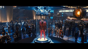 captain america human torch 285px Captain America: The First Avenger Blu ray Review: Above Average Disc for an Above Average Superhero Movie