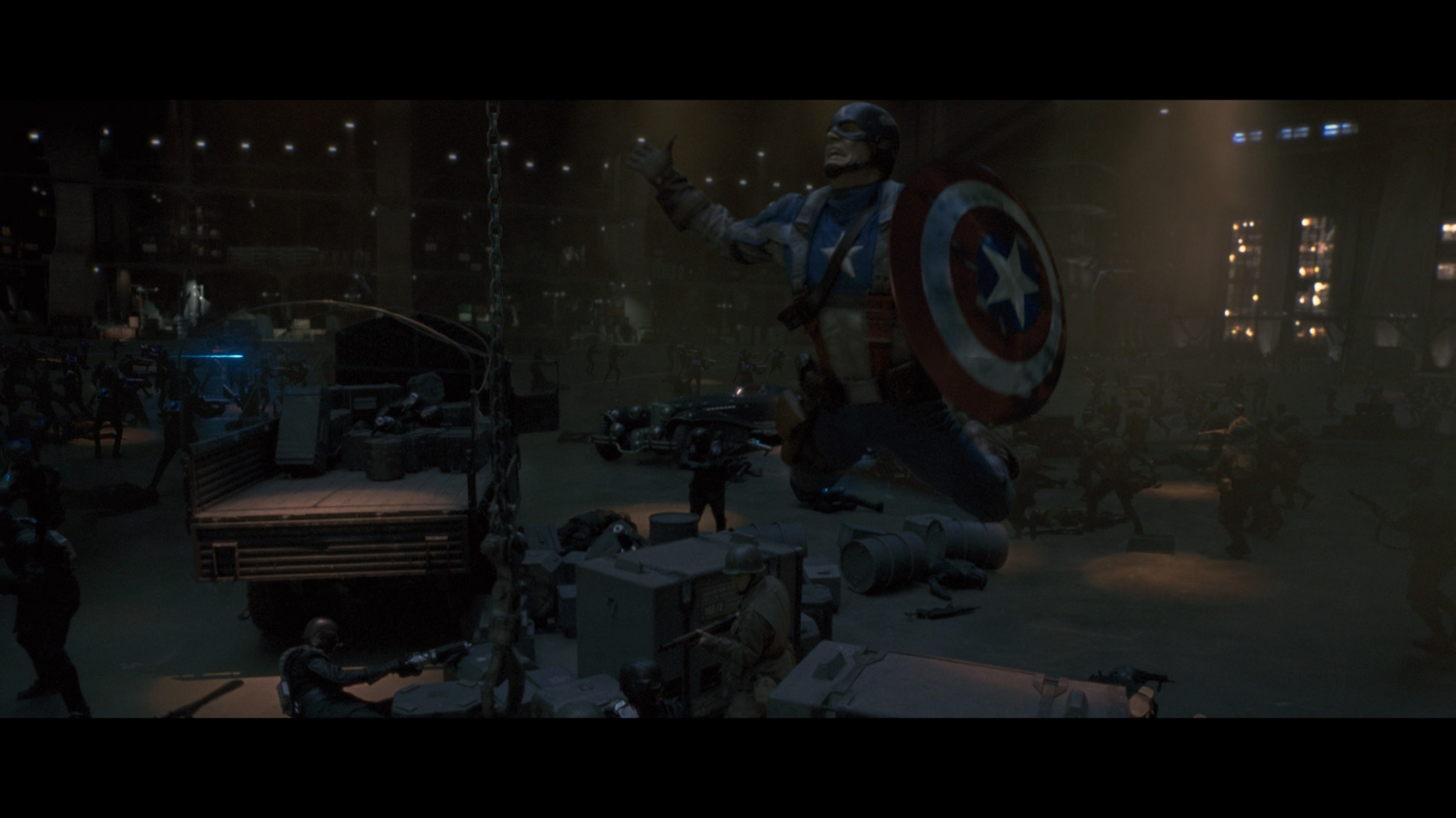 Captain America: The First Avenger' Blu-ray Review: Above