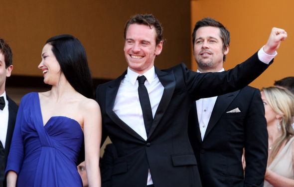 Michael Fassbender Brad Pitt Movie Michael Fassbender And Brad
