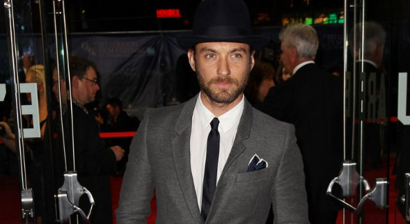 Jude Law at BFI London Film Festival premiere of 'Jude' (Getty Images)