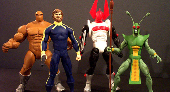 Micronauts action figures