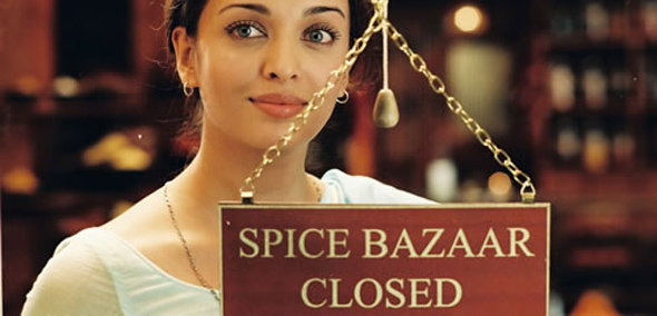 """Spice Bazaar Closed"" Screencap"