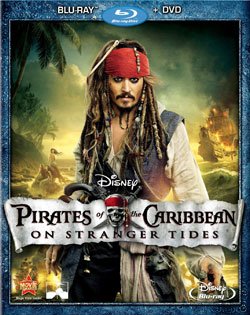 stranger tides cover Pirates of the Caribbean: On Stranger Tides Blu ray Review: A Pretty Paltry Offering